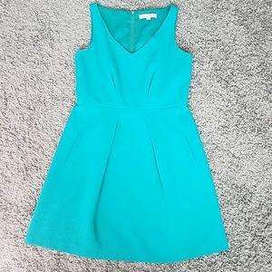 Ann Taylor Loft Teal Dress size 6